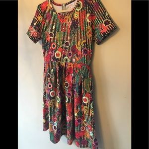 L LuLaRoe Amelia Dress